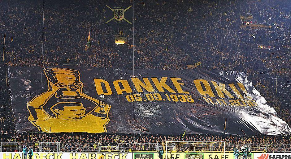 "Borussia Dortmund: Aki-Schmidt-Choreo"" - Bildquelle: 2016 Getty Images"