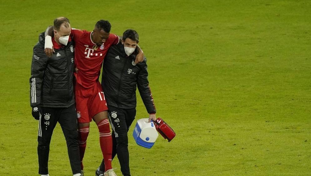 Jerome Boateng hat nur eine leichte Verletzung erlitten - Bildquelle: AFPPOOLSID