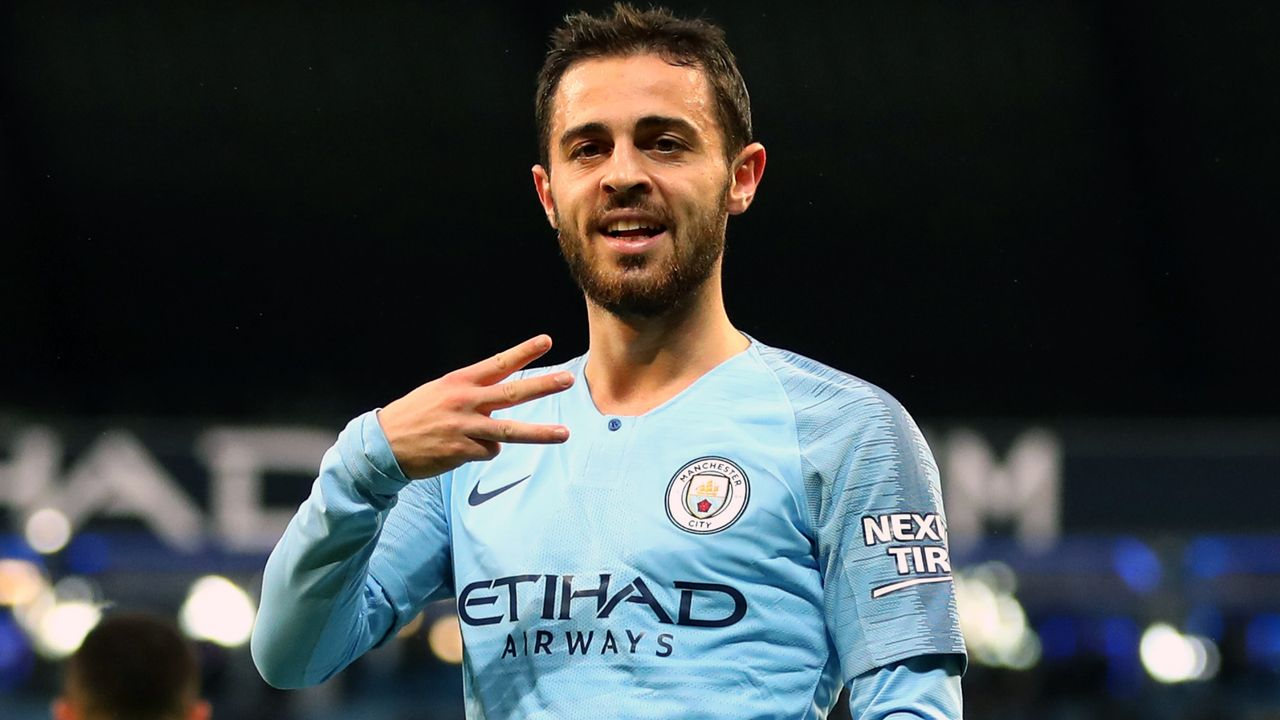 Platz 6 - Bernardo Silva (Manchester City) - Bildquelle: 2018 Getty Images