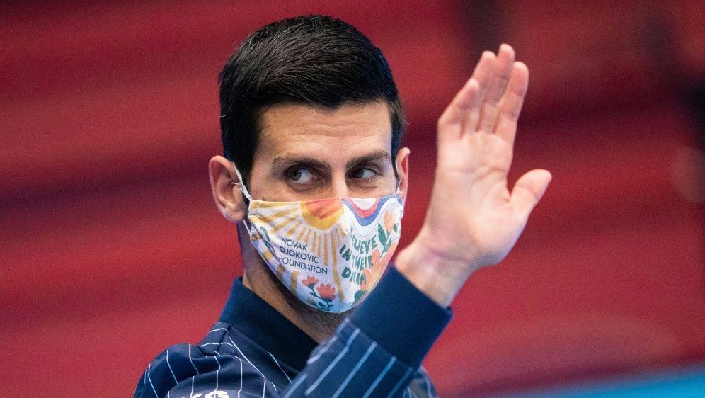 Djokovic wird sein Ziel wohl trotzdem erreichen - Bildquelle: AFPSIDGEORG HOCHMUTH