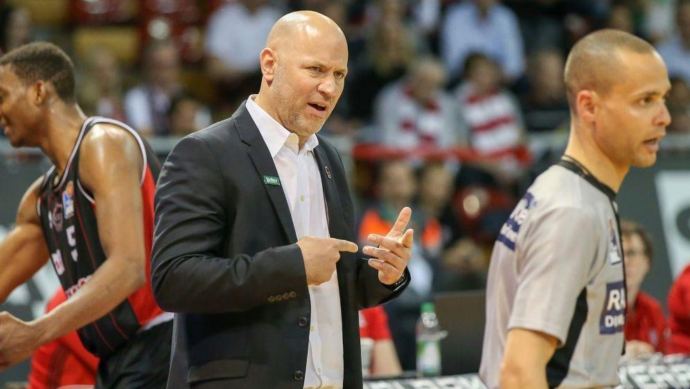 Freut sich über den Finaleinzug: Coach Denis Wucherer - Bildquelle: PIXATHLONPIXATHLONSID