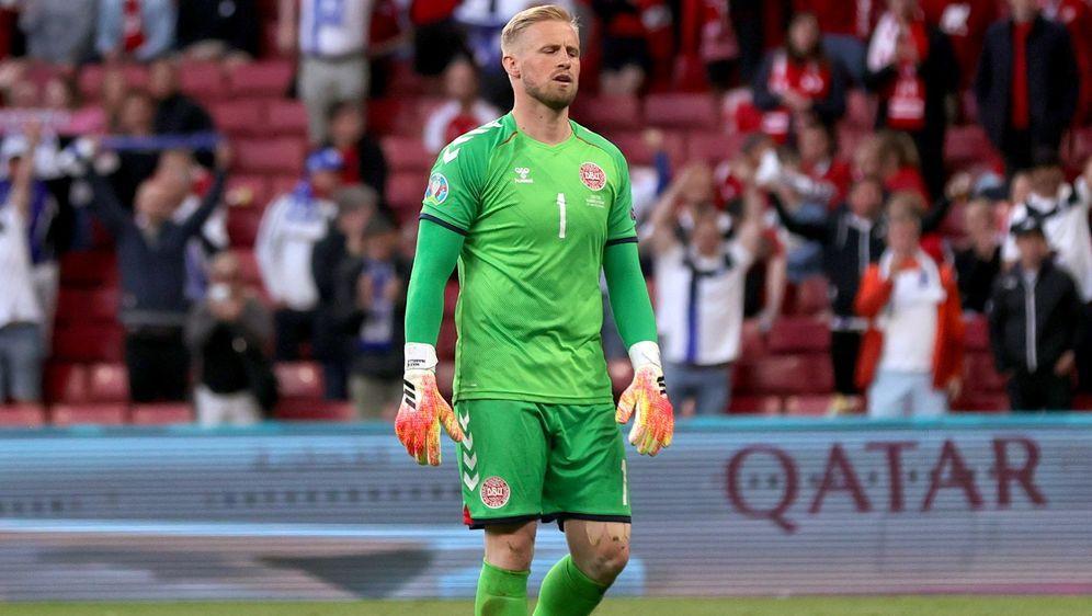Keeper Kasper Schmeichel war mit den angebotenen Optionen der UEFA nicht ein... - Bildquelle: Getty