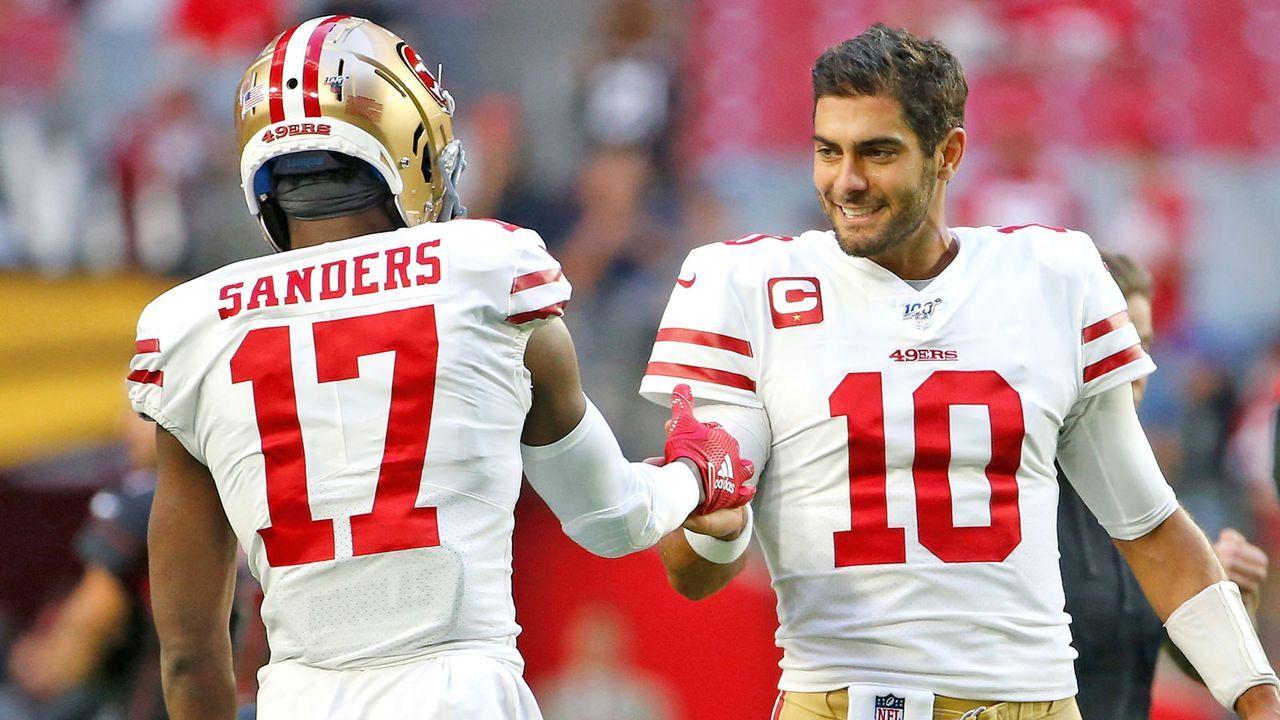 NFC: 5. San Francisco 49ers (aktuell 8-0) - Bildquelle: 2019 Getty Images
