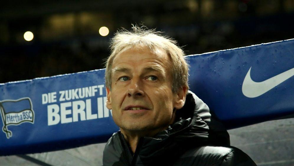 Klinsmann ist seit Ende November Trainer bei der Hertha - Bildquelle: PIXATHLONPIXATHLONSID