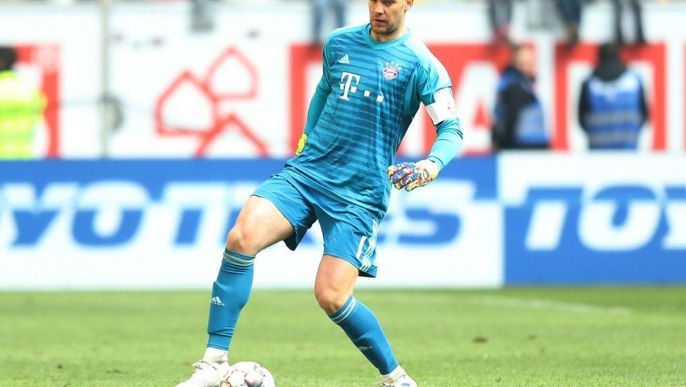 Manuel Neuer beginnt mit Lauftraining - Bildquelle: FIROFIROSID