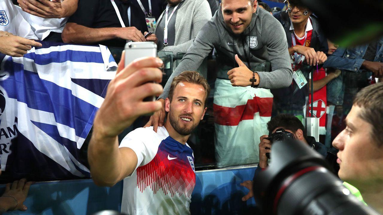 Mittelstürmer: Harry Kane (24, England) - Bildquelle: 2018 Getty Images