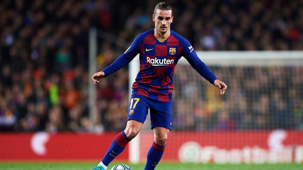 Platz 9 - Antoine Griezmann (FC Barcelona) - Bildquelle: 2019 Getty Images