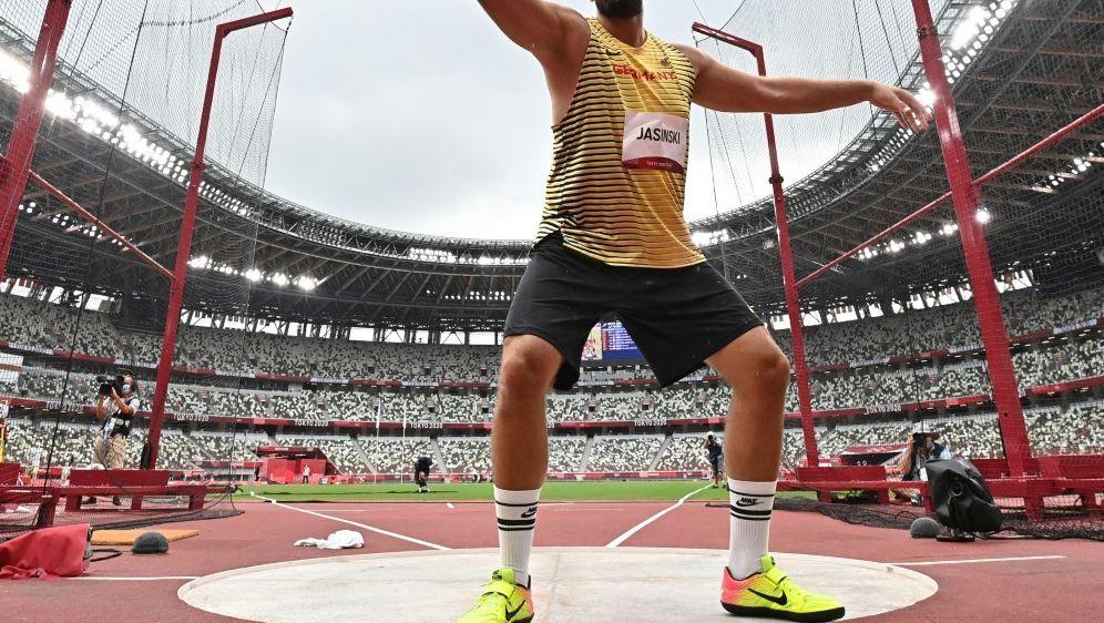 Daniel Jasinski wirft auch in Tokio um eine Medaille - Bildquelle: AFPSIDBEN STANSALL