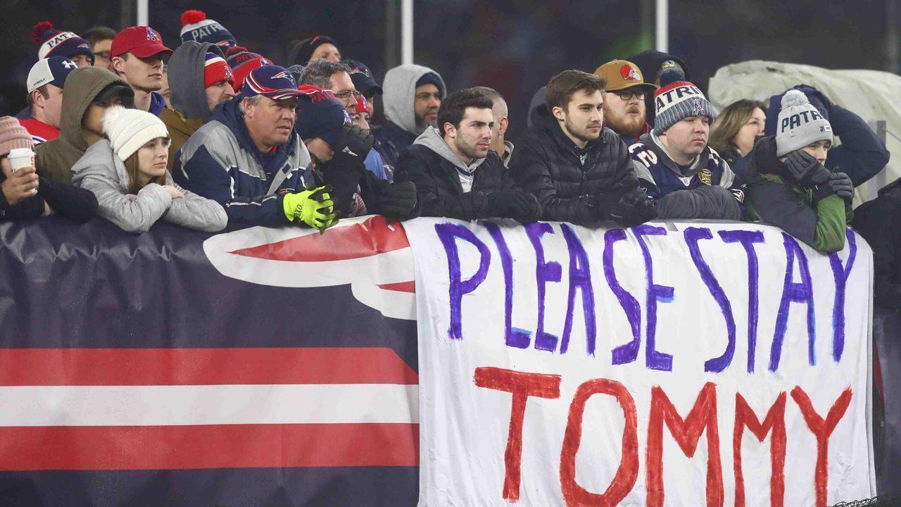 Wegen der alten Liebe? Super Bowl sorgt in Boston für höhere Einschaltquoten als in Tampa - Bildquelle: getty