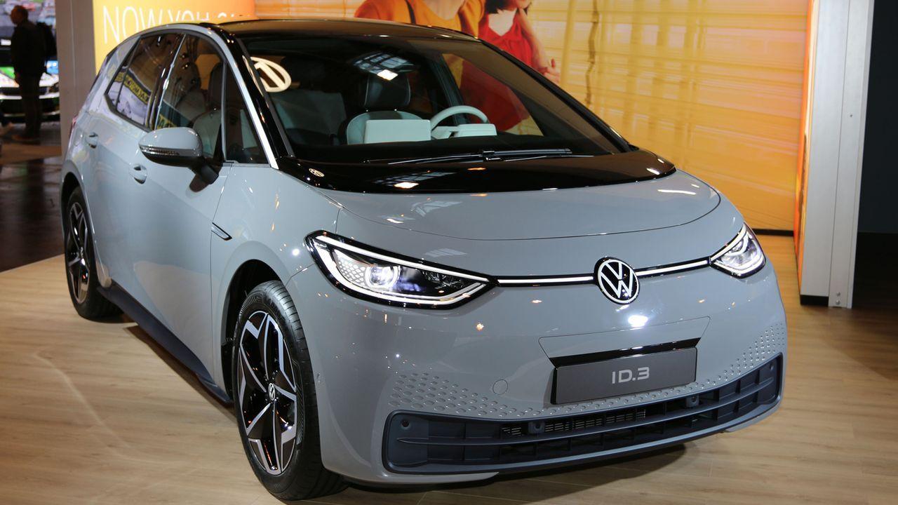 VW ID.3 - Bildquelle: imago images/Sebastian Geisler