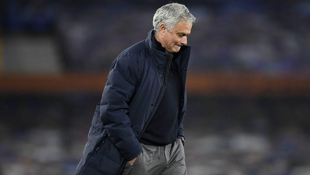 Abgang in London: Jose Mourinho wurde bei den Tottenham Hotspur entlassen - Bildquelle: Imago Images