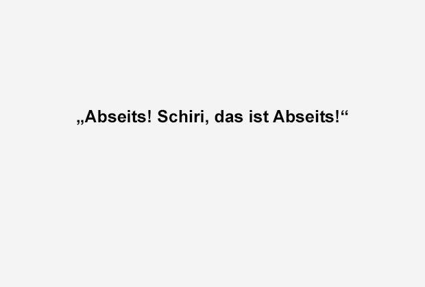 Abseits - Bildquelle: ran.de