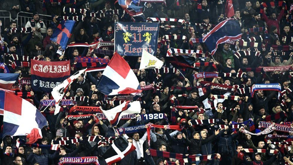 Cagliari verhängt lebenslange Stadionverbote - Bildquelle: AFPSIDMIGUEL MEDINA