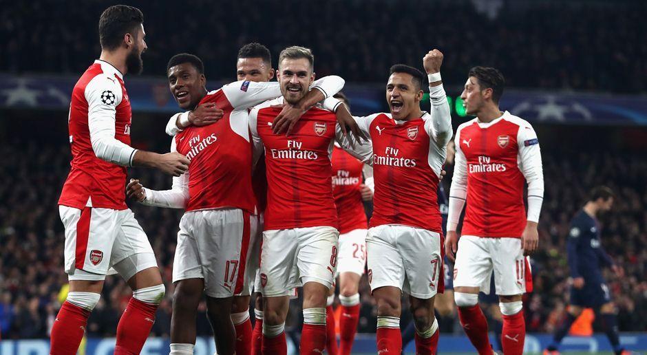 Platz 7: FC Arsenal - Bildquelle: 2016 Getty Images