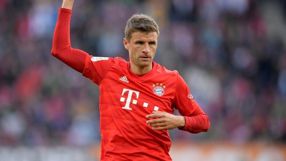 Thomas Müller ereicht Assist Nummer 100 seiner Karriere - Bildquelle: PIXATHLONPIXATHLONSID