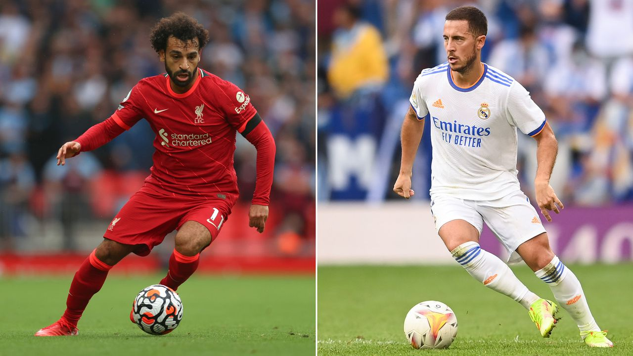 Mo Salah (FC Liverpool) & Eden Hazard (Real Madrid) - Bildquelle: 2021 Getty Images