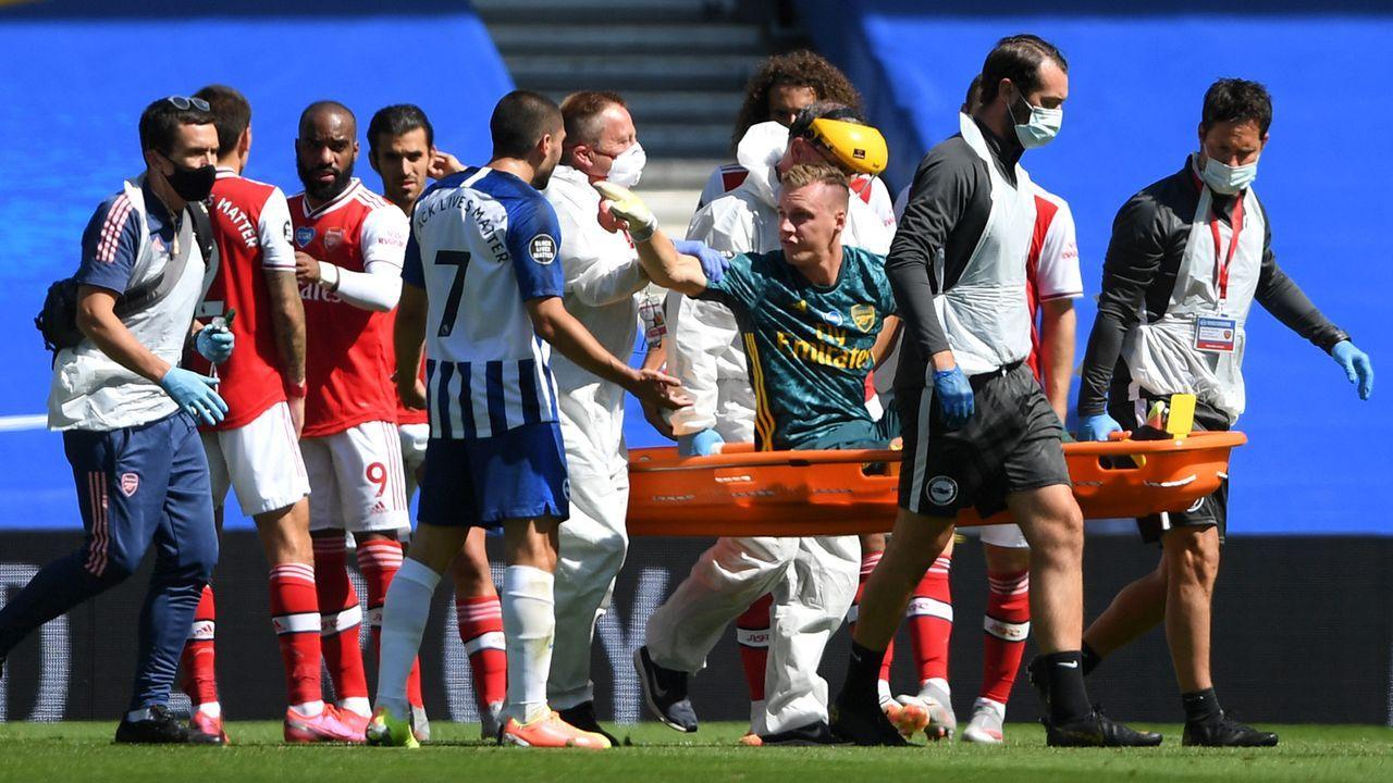 Bernd Leno verletzt - Das ist passiert - Bildquelle: 2020 Getty Images