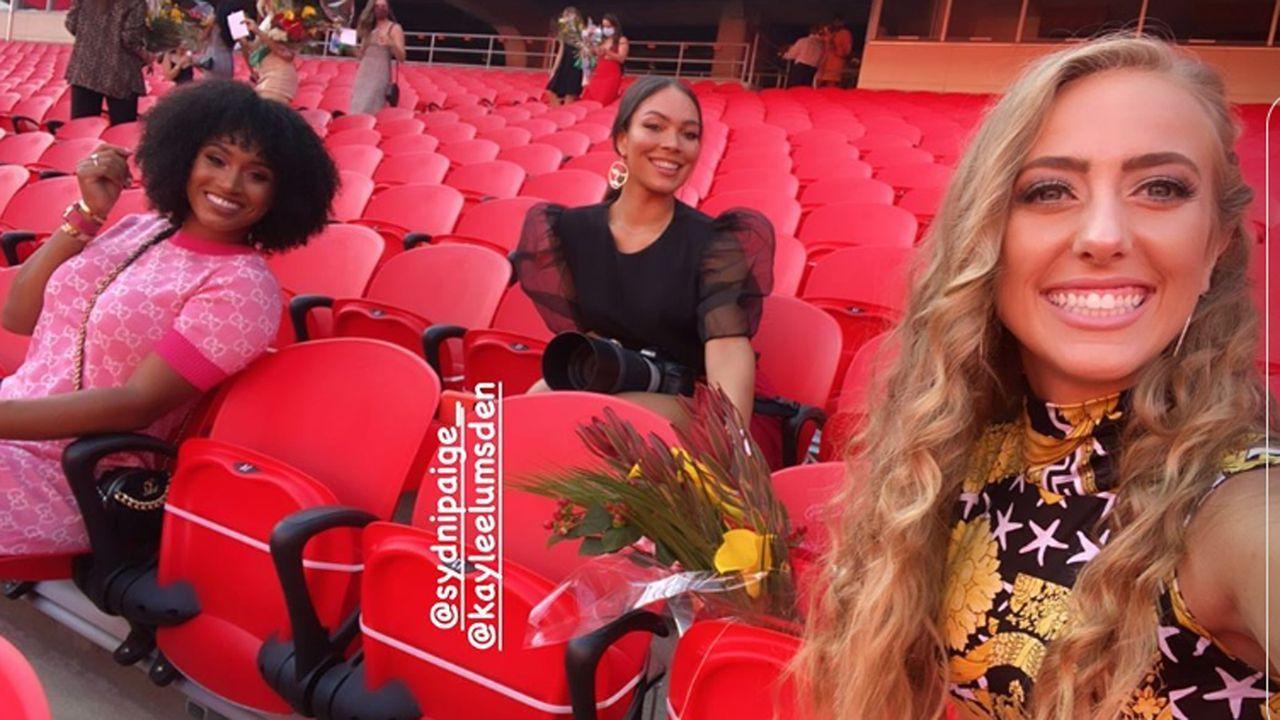 Patrick Mahomes und Brittany Matthews: Die Verlobung in Bildern - Bildquelle: Screenshot instagram @brittanylynne