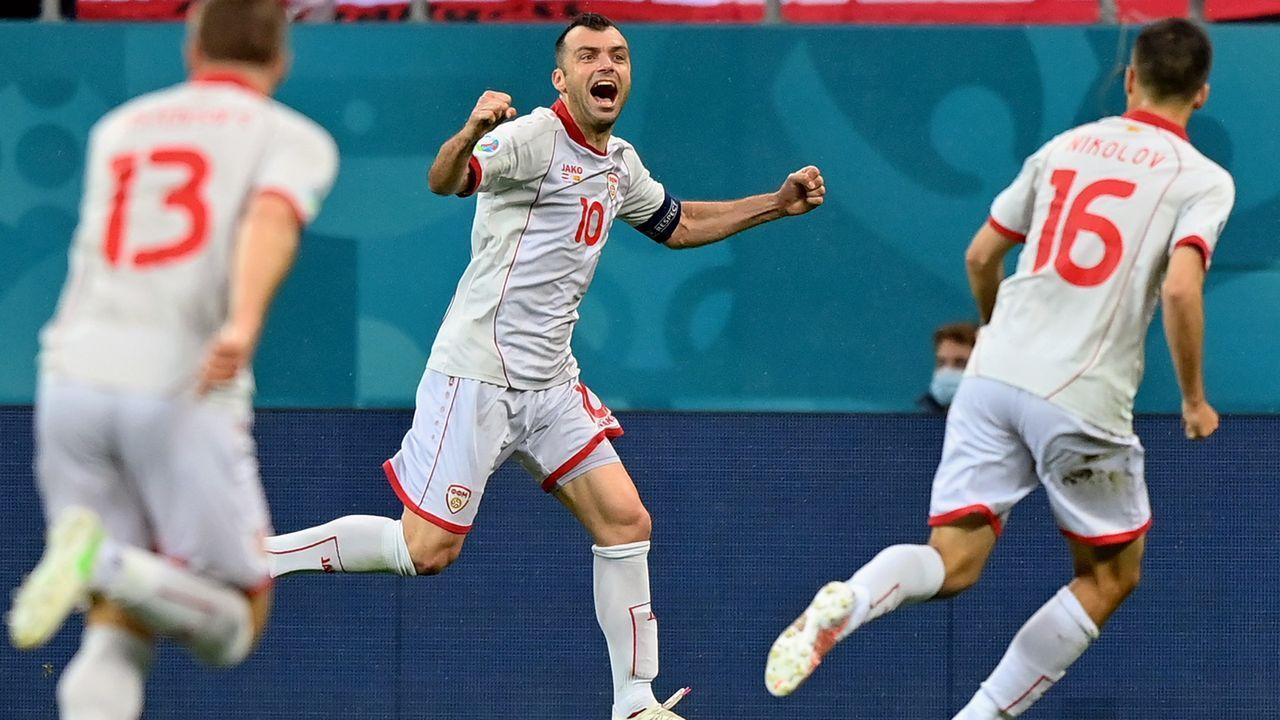 Platz 2 - Goran Pandev (Nordmazedonien/EM 2021) - Bildquelle: 2021 Getty Images