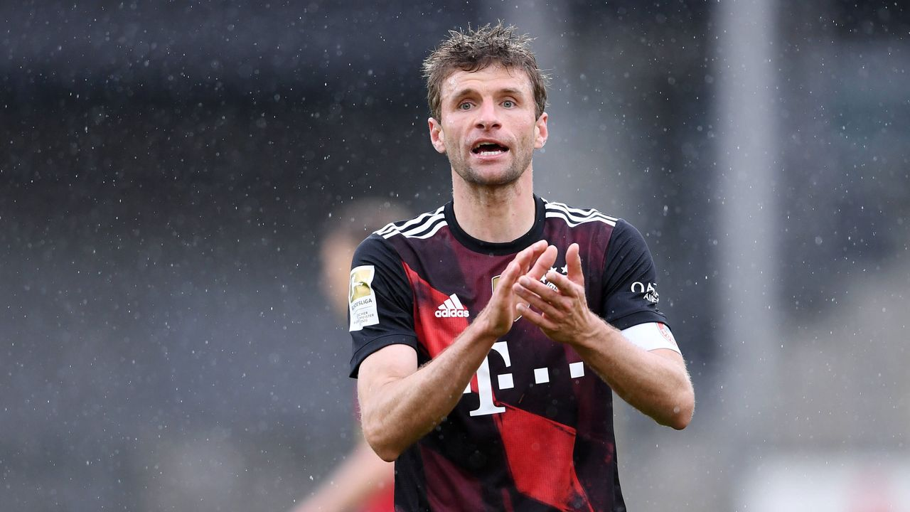 Platz 2: Thomas Müller (FC Bayern München) - Bildquelle: imago images/ULMER Pressebildagentur