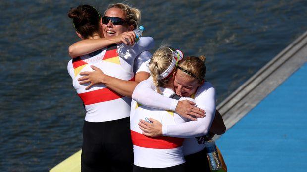 Doppelvierer Frauen (Rudern/Gold) - Bildquelle: 2016 Getty Images