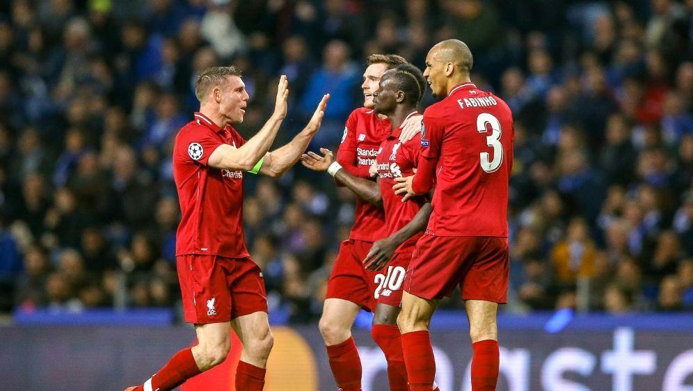 Liverpool zieht ungefährdet ins Halbfinale ein - Bildquelle: FIROFIROSID