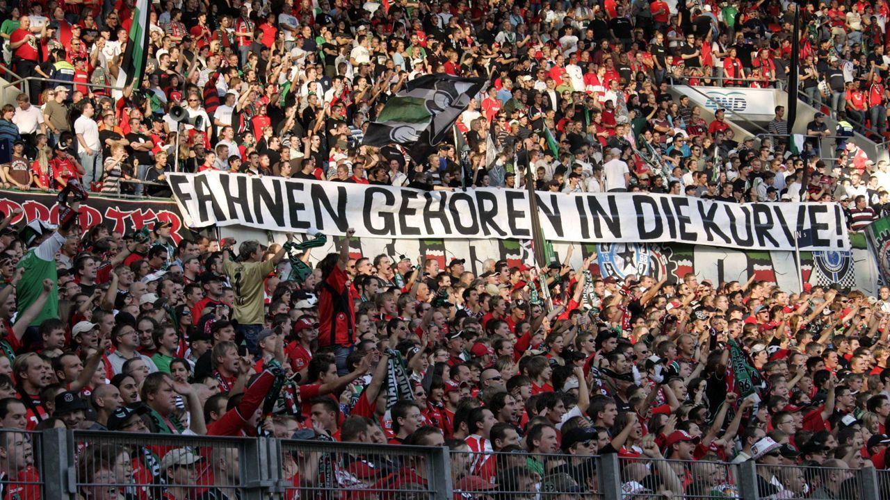 Platz 4: Hannover 96 - Bildquelle: imago