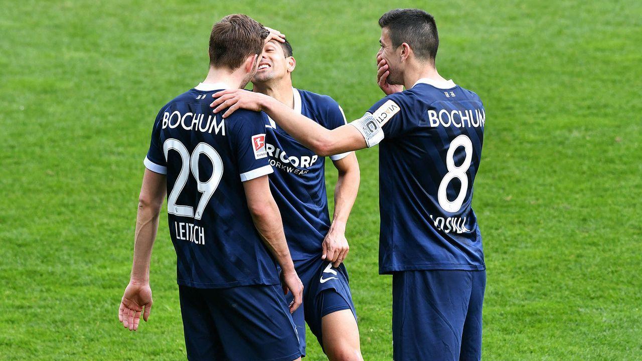 VfL Bochum (1. Platz - 60 Punkte) - Bildquelle: imago images/Uwe Kraft