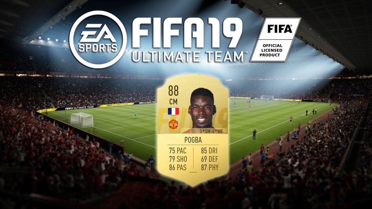 Platz 5: Paul Pogba (Manchester United)  - Bildquelle: EA Sports