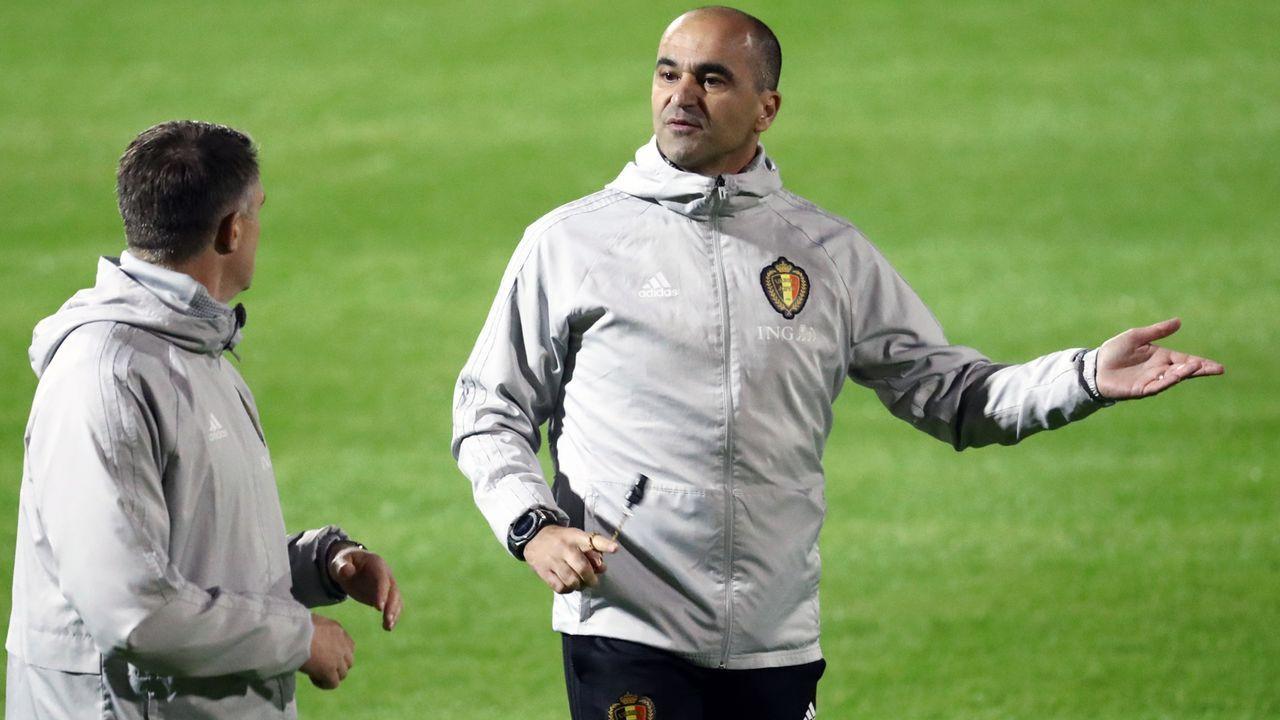 Roberto Martinez (Nationaltrainer Belgien) - Bildquelle: imago images/Belga