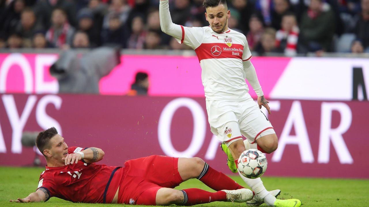 Platz 7 - Niklas Süle (FC Bayern München) - Bildquelle: 2019 Getty Images