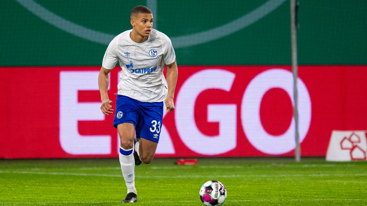 Malick Thiaw (Verteidigung/FC Schalke 04) - Bildquelle: imago images/Noah Wedel
