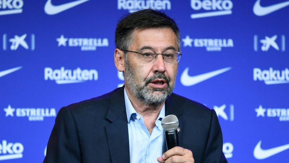 Ankündigung zm Abschied: Josep Maria Bartomeu - Bildquelle: AFPSIDJOSEP LAGO