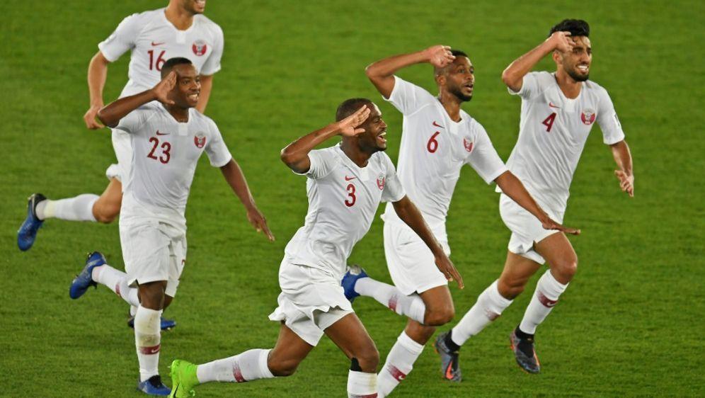 Katar kassierte im gesamten Turnier nur ein Gegentor - Bildquelle: AFPSID