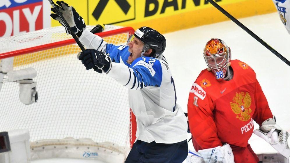 Finnland auf dem Weg zum dritten WM-Titel - Bildquelle: AFPSIDJOE KLAMAR
