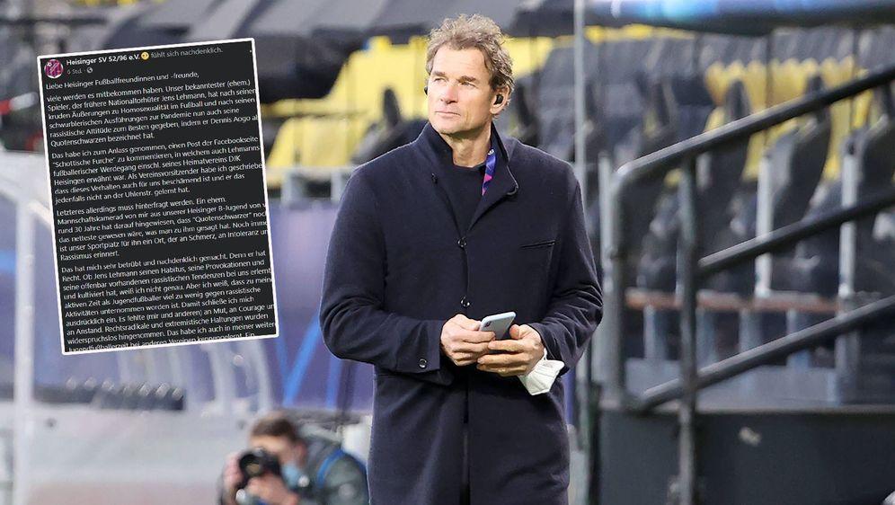 Jens Lehmann erhält Hausverbot bei seinem Jugendklub. - Bildquelle: imago images/HMB-Media