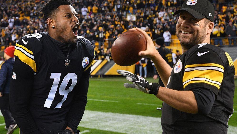 Die Gegenwart und Zukunft der Pittsburgh Steelers: JuJu Smith-Schuster (l.) ... - Bildquelle: Getty Images