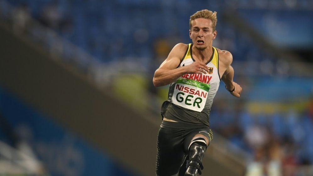 Johannes Floors sprintet zum neuen Weltrekord - Bildquelle: AFPSIDCHRISTOPHE SIMON