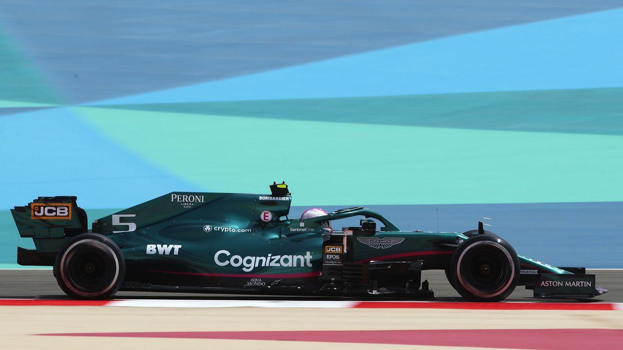 Bahrain-Tests: Vettel-Renner im Profil - Bildquelle: Getty Images