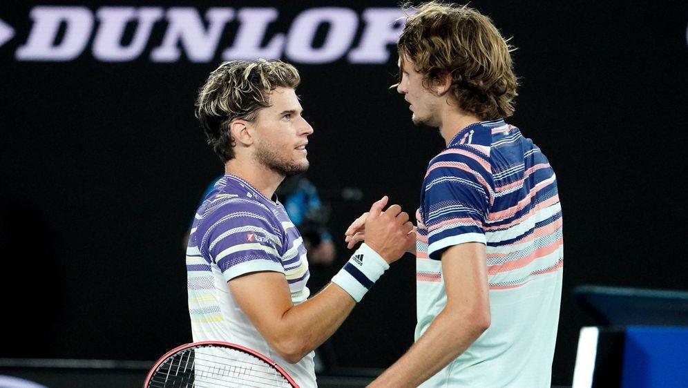 Alexander Zverev verpasst Australian Open-Finale. - Bildquelle: imago