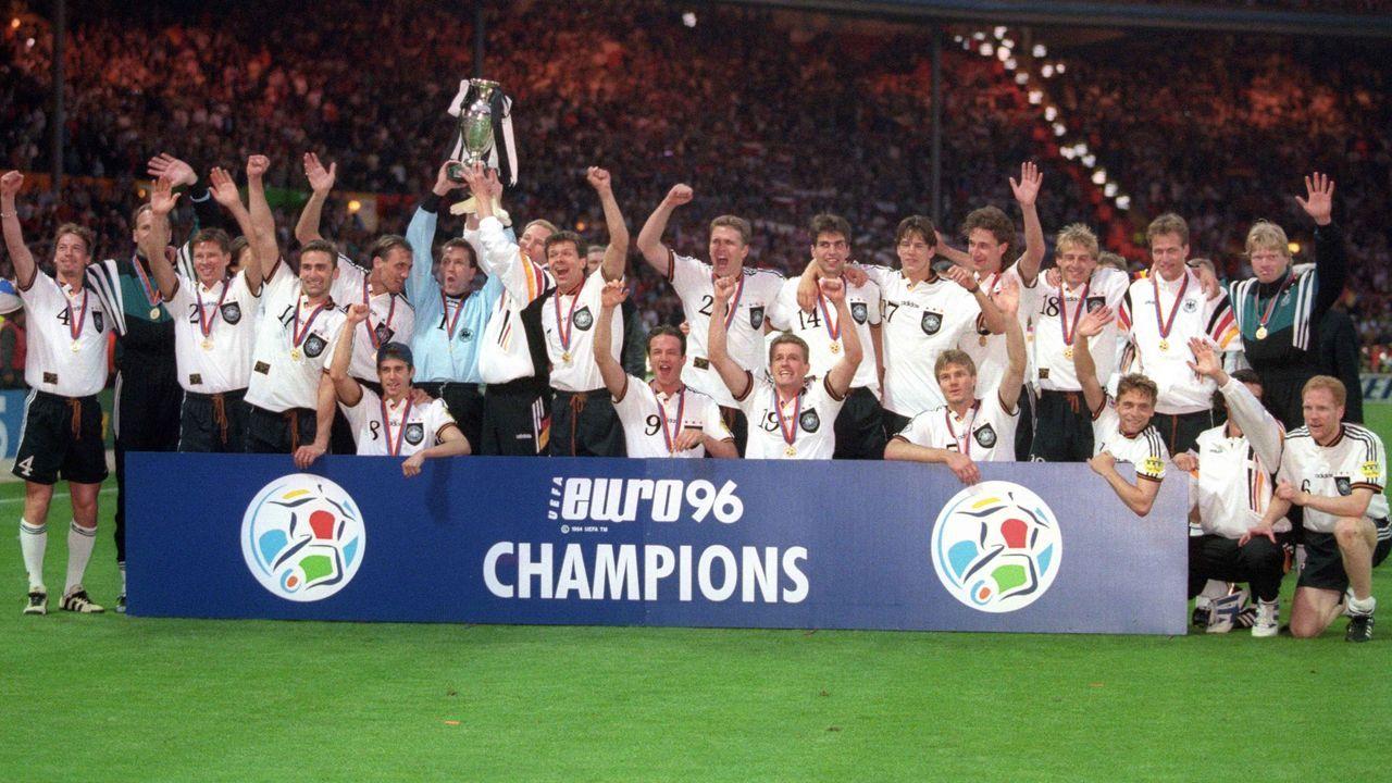 Letzter deutscher EM-Sieg 1996 - Bildquelle: Imago Images