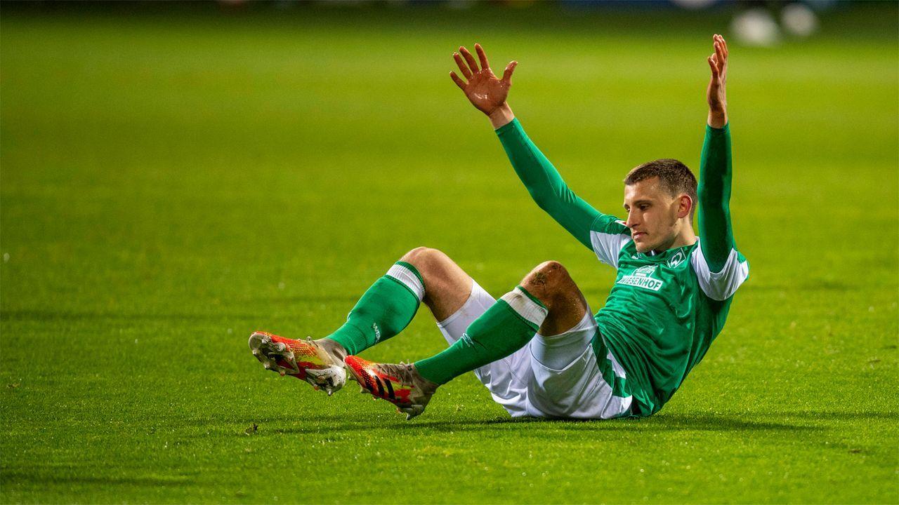 Werder Bremen - 14. Platz, 30 Punkte - Bildquelle: Imago Images