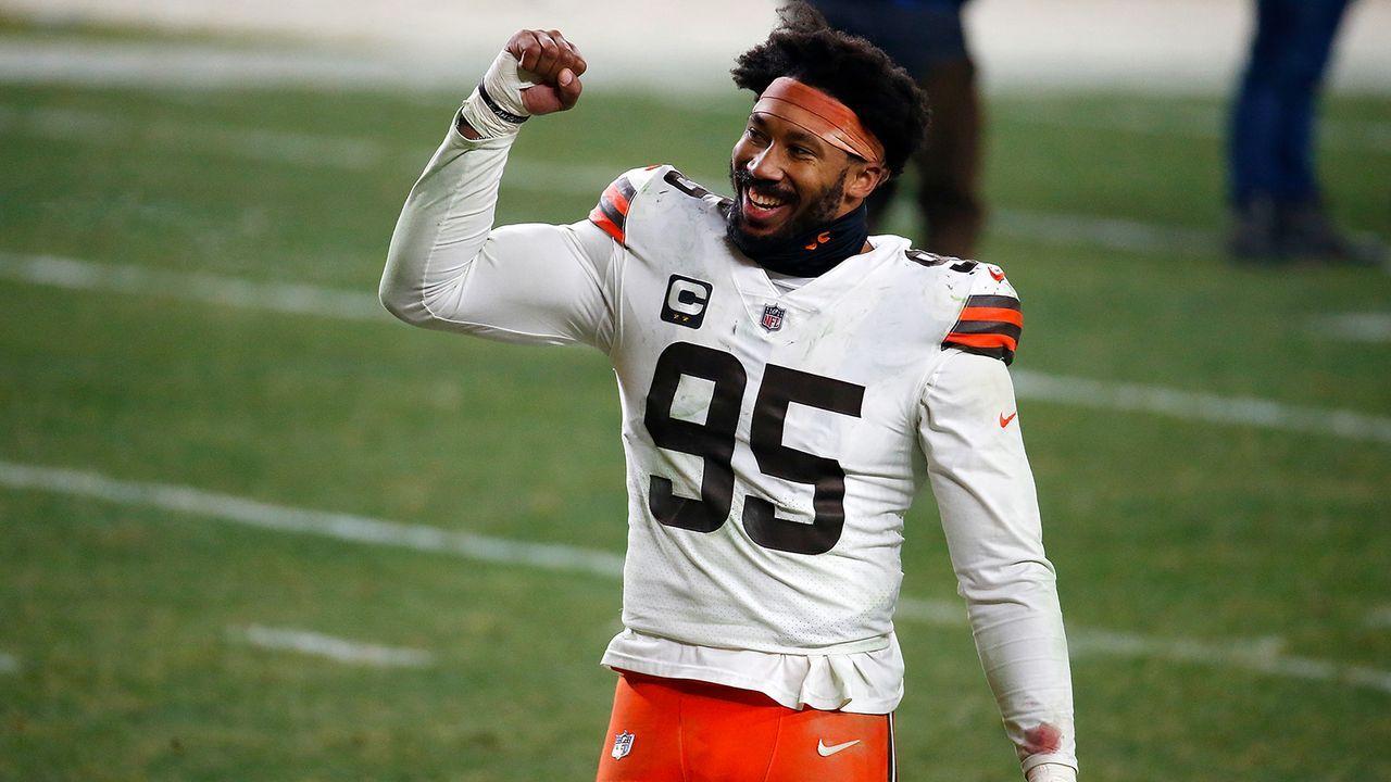 Platz 13: Myles Garrett (Cleveland Browns) - Bildquelle: Getty Images