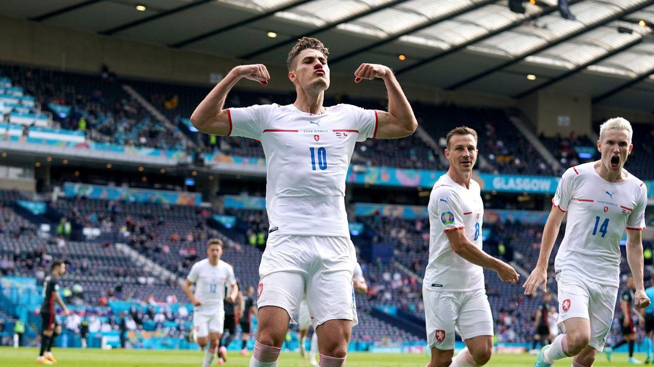 1:0 Tschechien - Bildquelle: 2021 Getty Images