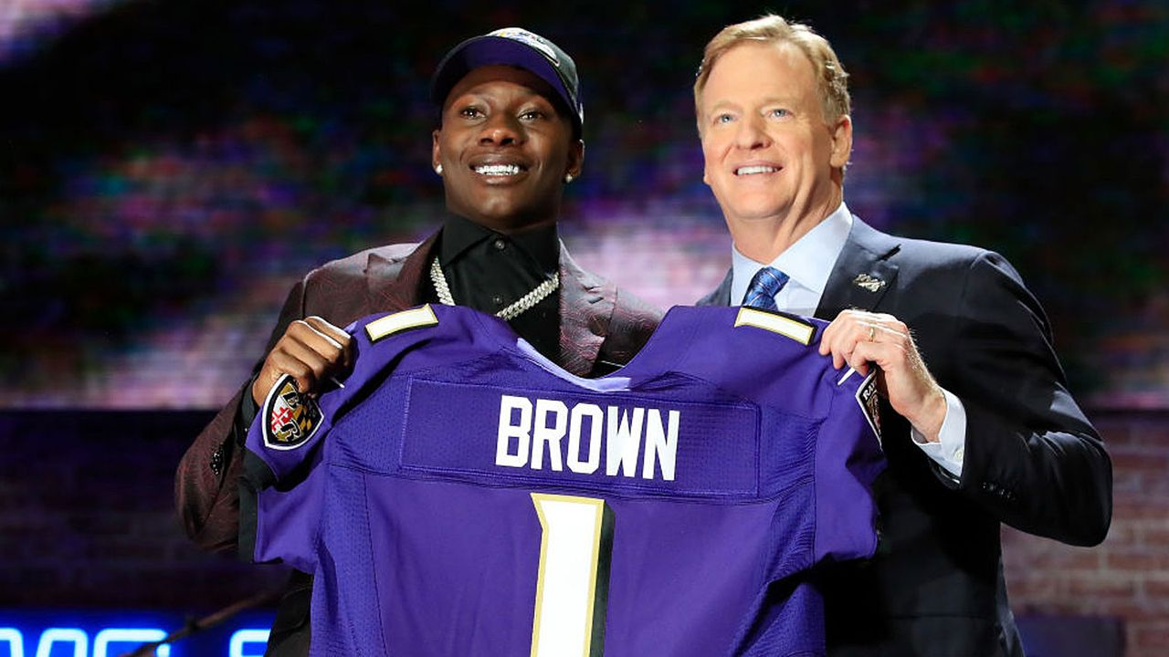 Die Draft Picks der Baltimore Ravens (8) - Bildquelle: 2019 Getty Images