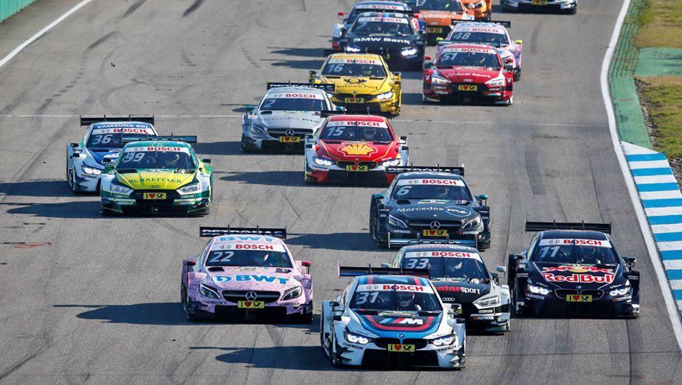 Die Höhepunkte eines DTM-Wochenendes: die beiden Rennen. - Bildquelle: imago