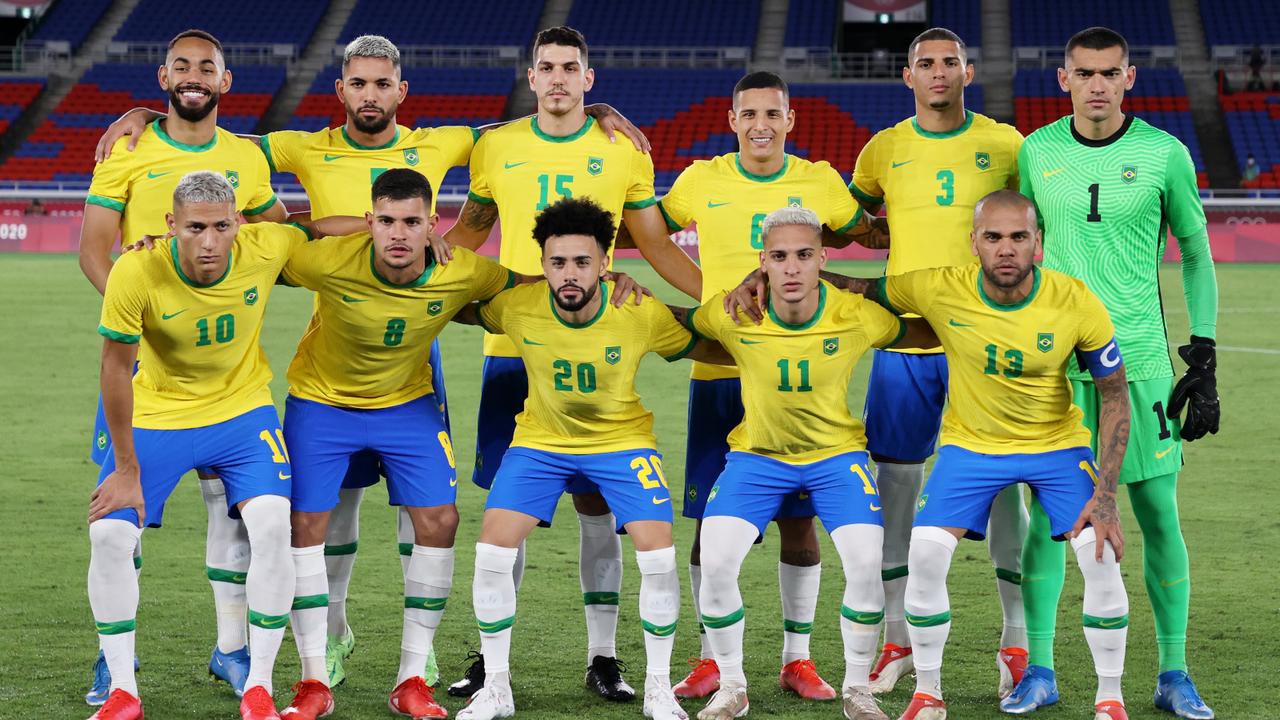 Die brasilianische Aufstellung - Bildquelle: Getty Images