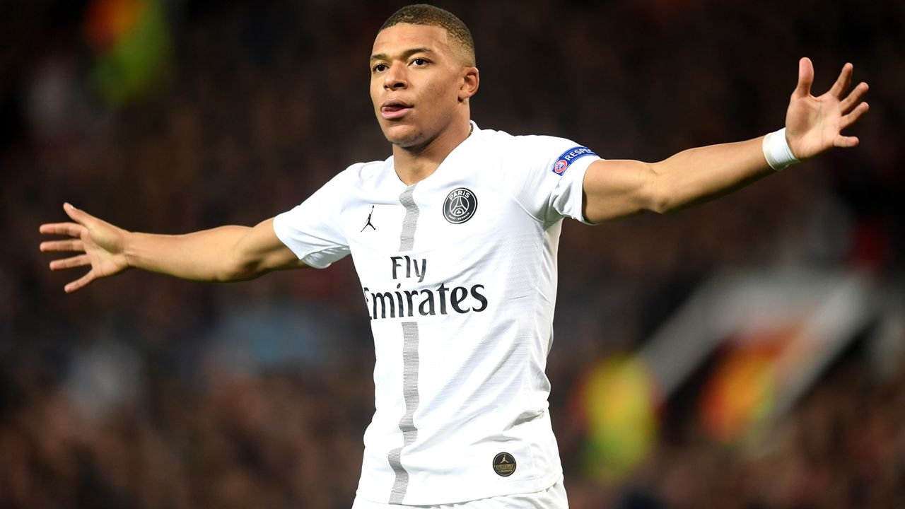2. Kylian Mbappe (20, Paris Saint-Germain) - Bildquelle: 2019 Getty Images