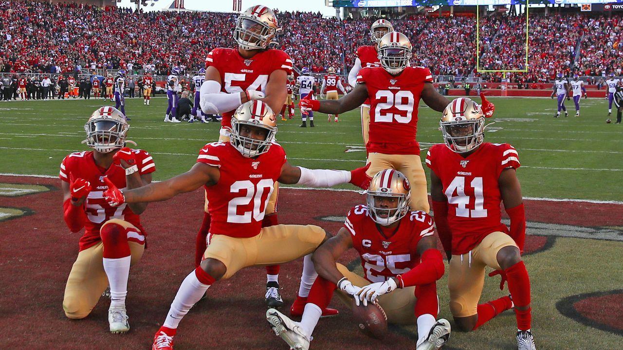 Platz 12: San Francisco 49ers - Bildquelle: Getty Images