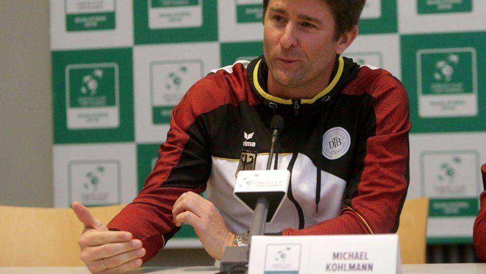 Davis Cup: Michael Kohlmann freut sich auf Düsseldorf - Bildquelle: PIXATHLONPIXATHLONSID